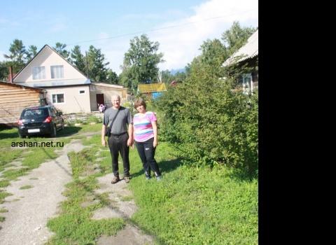 Сергей с супругой из Красноярска